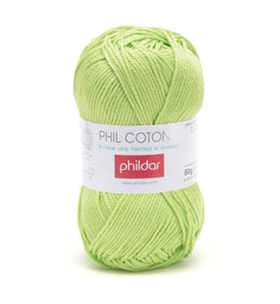 Phildar Phil Coton 4 Pistache 0043 - groen lime