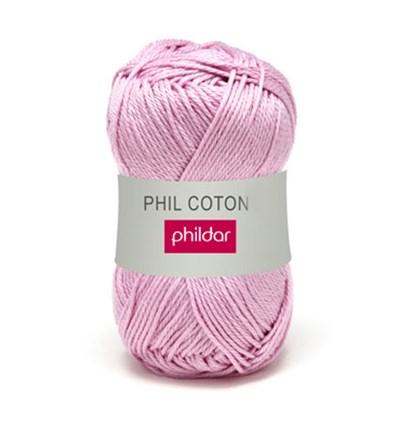 Phildar Phil Coton 4 Guimauve 0057 - paars lila op=op