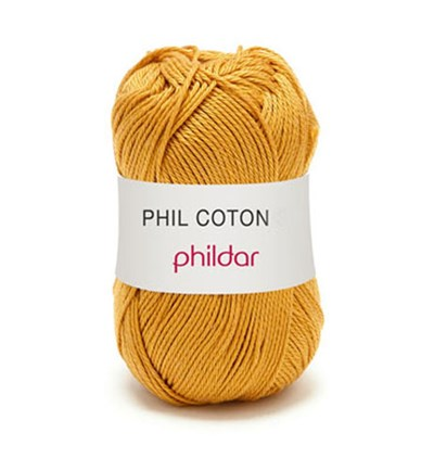 Phildar Phil Coton 4 Gold 0073 - geel goud