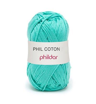 Phildar Phil Coton 4 Piscine 0042 - blauw aqua
