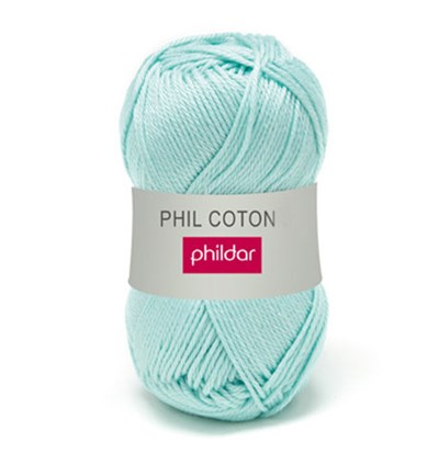 Phildar Phil Coton 4 Jade 0058 - groen mint