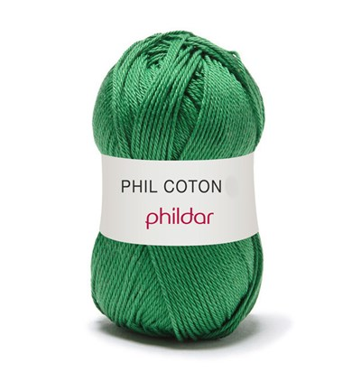 Phildar Phil Coton 4 Golf 0044 - groen