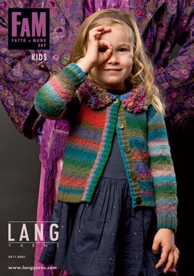 Lang Yarns magazine 207 kids