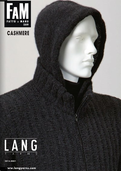 Lang Yarns magazine 209 cashmere