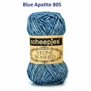Scheepjes Stone Washed 805 Blue Apatite