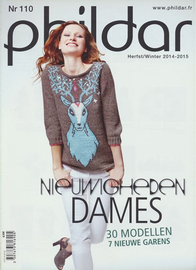 Phildar nr 110 herfst winter 2014 - 2015 dames op=op