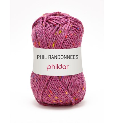 Phildar Phil Randonnees Fuchsia 0003 op=op 4