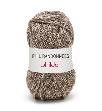 Phildar Phil Randonnees Taupe 0007 op=op