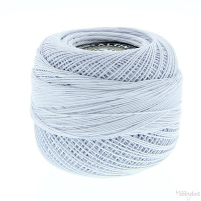 Coton crochet 50 - 367 licht blauw grijs 762