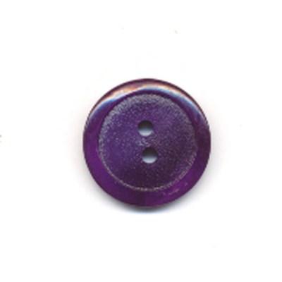 Knoop 15 mm paars op=op