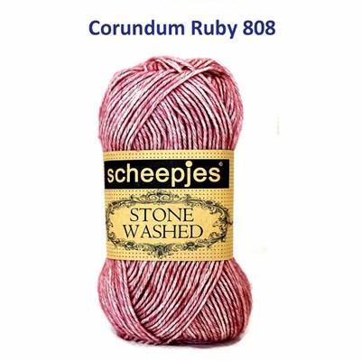 Scheepjes Stone Washed XL - 848 corundum ruby 848