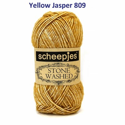 Scheepjes Stone Washed XL - 849 yellow jasper
