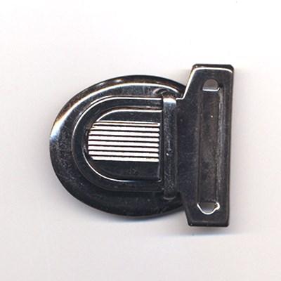 Tassluiting 45 a 60 mm - zilver op=op