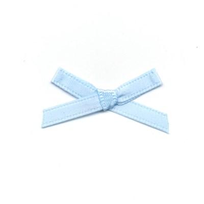 Strikje licht blauw 3 a 2 cm 10 stuks op=op