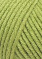 Lang Yarns Merino plus 152.0198 licht linde groen op=op
