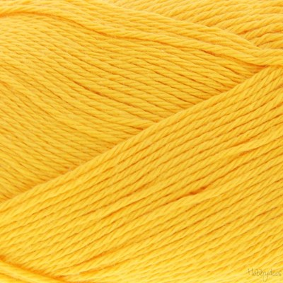 Scheepjes Cotton 8 714 zonnebloem geel