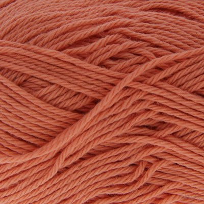 Scheepjes Cotton 8 650 donker zalm