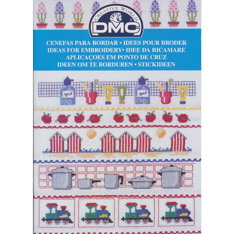 459114d793393c DMC creative world - ideeen om te borduren divers 12989 - Hobbydoos.nl