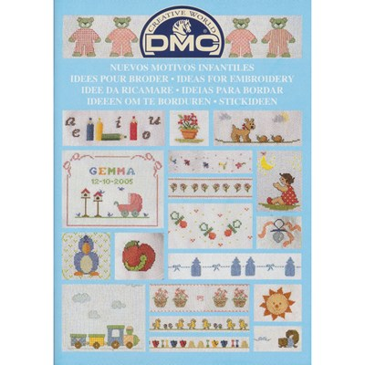 DMC creative world - ideeën om te borduren baby 14226