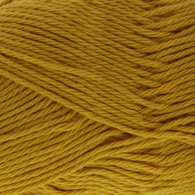 Scheepjes Cotton 8 722 mosterd geel