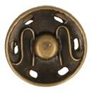 Drukknoop 19 mm oud zilver*