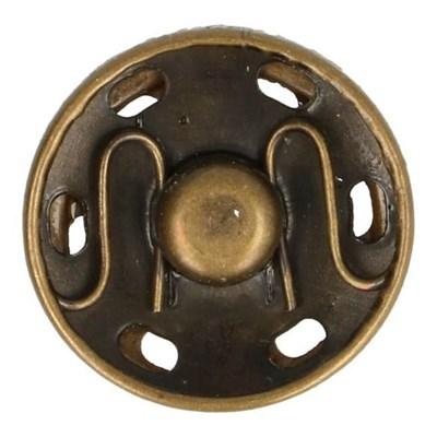 Drukknoop 19 mm nikkel - 20019