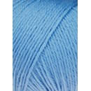 Lang Yarns Merino 200 bebe 71.0372 - blauw midden licht