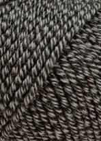 Lang Yarns Merino 120 34.0050 zwart met zand op=op