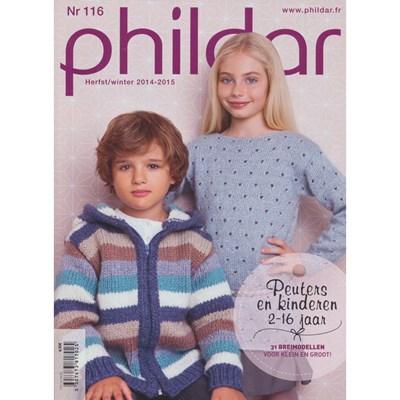 Phildar nr 116 herfst winter 2014-2015 2-16 jaar (op=op)
