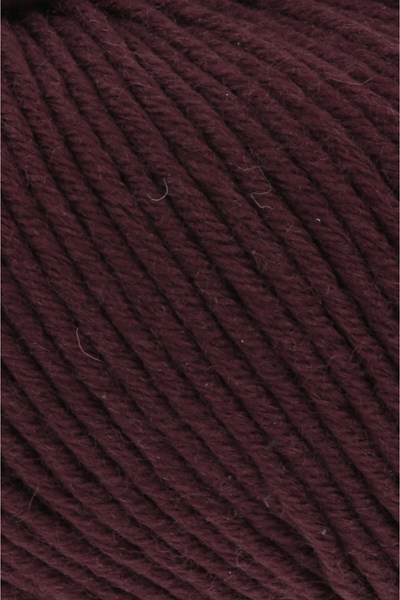 Lang Yarns Merino plus 152.0164 donker wijn rood