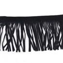 Western Franje zwart 75 mm (per 50 cm)