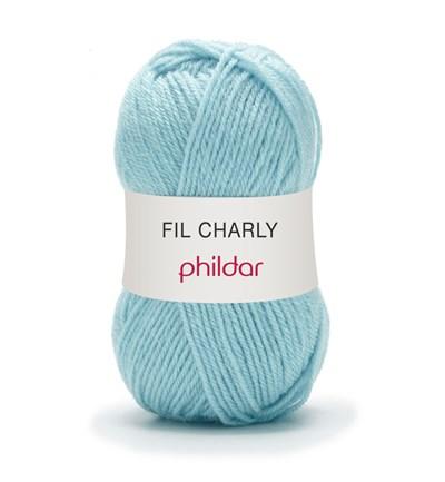Phildar Charly Azur 0021 - 1079 - blauw licht