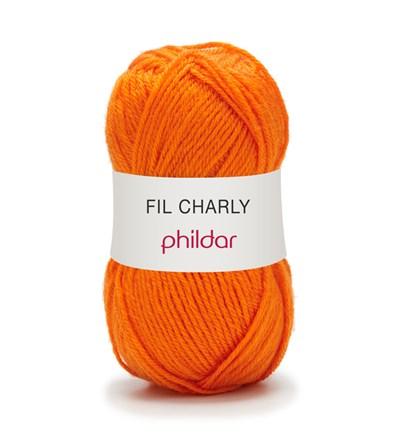 Phildar Charly Mandarine 0026 - oranje op=op