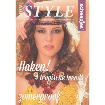 Mijn Style no. 2 2015 Scheepjeswol op=op