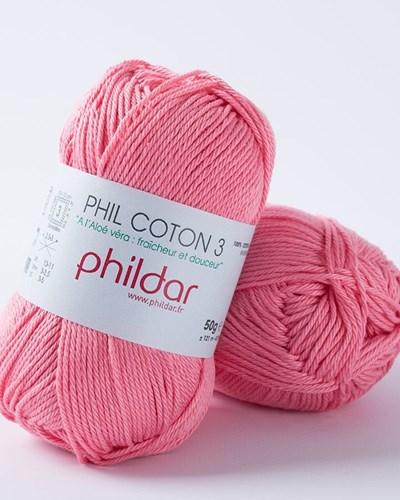Phildar Phil coton 3 Berlingot 1198 - 76