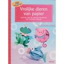 Vrolijke dieren van papier