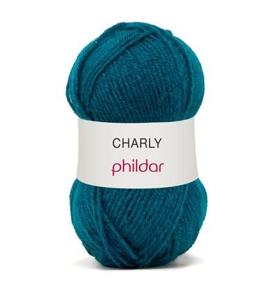 Phildar Charly Persan 0035 - 1085 - blauw donker aqua