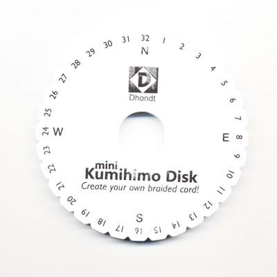 kumihimo disk 150 mm rond