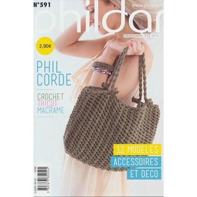 Phildar nr 591 - Phil corde 10 modellen op=op