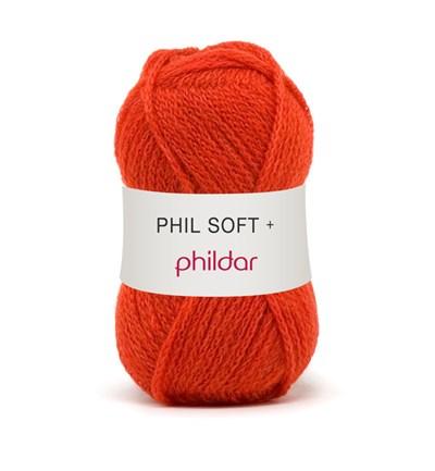 Phildar Phil Soft plus Coquelicot op=op