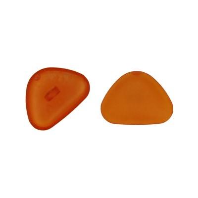 Neus zwart rond 20 mm - 653 oranje 1 stuks