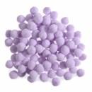 Pompon 13 mm lila (ca 80 stuks)
