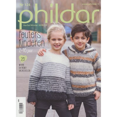 Phildar nr 124 Herfst winter 2015-2016 peuters en kinderen