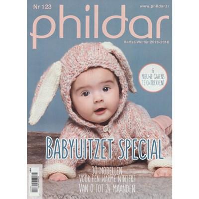 Phildar nr 123 Herfst winter 2015-2016 babyuitzet special