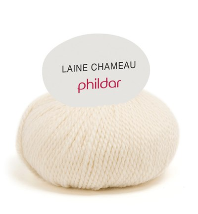 Phildar Laine Chameau 0001 craie
