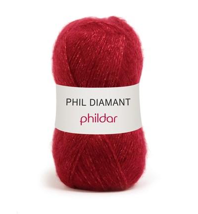 Phildar Phil Diamant Rubis op=op