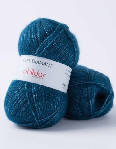 Phildar Phil Diamant Paon op=op