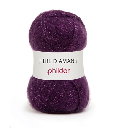 Phildar Phil Diamant Violine 9 op=op