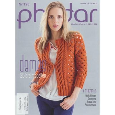Phildar nr 125 Herfst winter 2015-2016 dames (op=op)