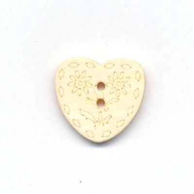 Knoop 15 mm 24 hout hart op=op